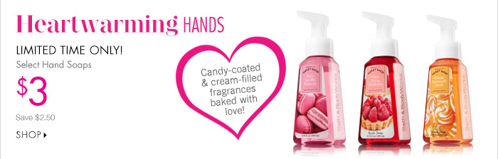 Select Hand Soaps – $3