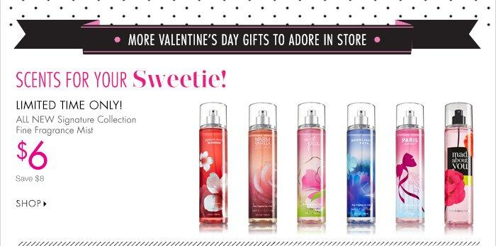 Select Fine Fragrance Mist – $6
