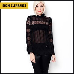Sochi Dedicated Clearance: Designer Apparel for Her