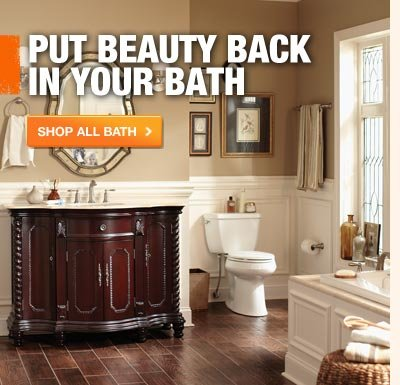 PUT BEAUTY BACK IN YOUR BATH