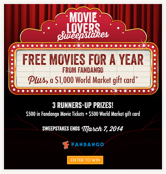 Win Free Movies for a Year!