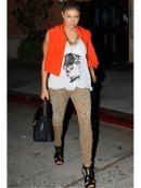 Current Elliott The Stiletto in Camel Leopard as Seen On Ashley Tisdale
