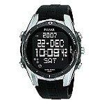 Pulsar Men's World Time Alarm Chronograph Watch PQ2003