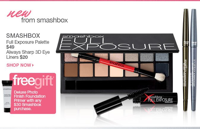 Full Exposure Palette & 3D Eye Liners > Shop SMASHBOX