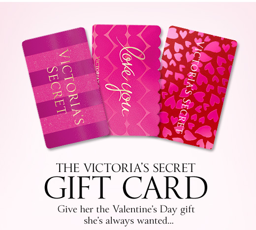 The Victoria's Secret Gift Card