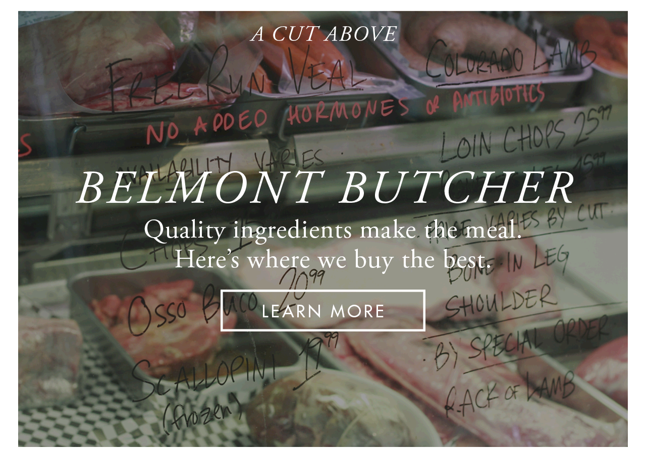 Places to Go - Belmont Buthcer