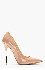 NICHOLAS KIRKWOOD Nude Patent Leather Pumps for women