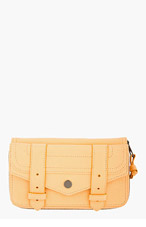 PROENZA SCHOULER Apricot Orange Leather Lux PS1 Continental Wallet for women