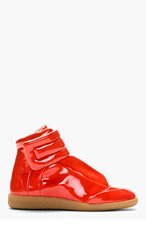 MAISON MARTIN MARGIELA Coral High Top Sneakers for women