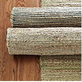 Jute with Chenille Natural fiber rug