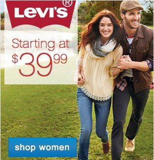 Levi's Starting at 39.99. Shop Women.