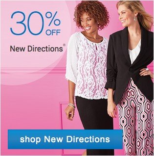 30% off New Directions. Shop New Directions.