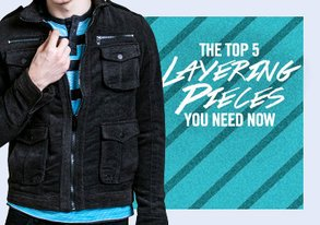 Shop Top 5 Layering Pieces You Need Now