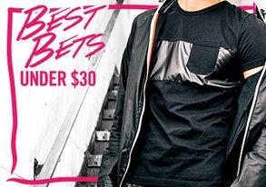 Shop Best Bets Under $30