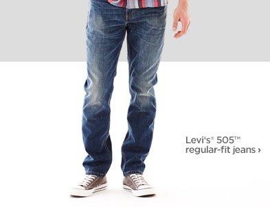 Levi's ® 505™ regular–fit  jeans ›