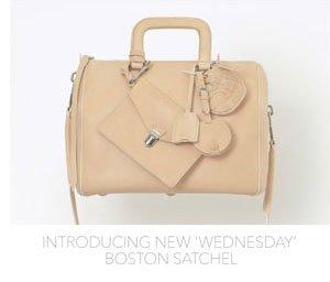 Introducing New 'Wednesday' Boston Satchel