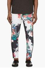 3.1 PHILLIP LIM Navy Tropical Print Skinny Jeans for men