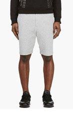 3.1 PHILLIP LIM Heather Grey Cotton Shorts for men