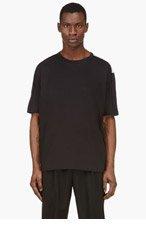 3.1 PHILLIP LIM BLACK & WHITE Colorblocked t-shirt for men