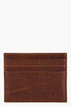MAISON MARTIN MARGIELA Brown CLASSIC CARD HOLDER for men