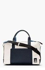 DIESEL Cream & Navy COZY BAG for men