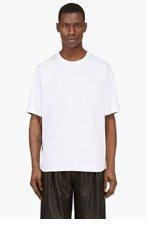 3.1 PHILLIP LIM White Tropical Print Panel T-Shirt for men