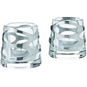 Classic Votive, Glass/Stainless Steel