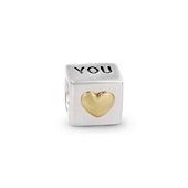Moments Silver Charm I love you
