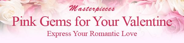 Masterpieces Pink Gems for Your Valentine