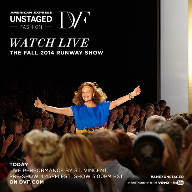 Watch the 2014 Runway Show Live tonight at 5pm