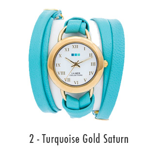 Turquoise Gold Saturn
