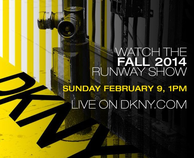 WATCH THE FALL 2014 RUNWAY SHOW LIVE