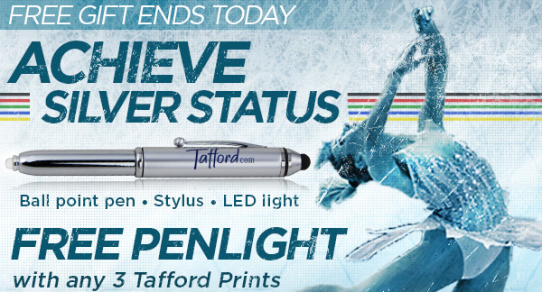 FREE Penlight with any 3 Tafford Prints or Essentials - Shop Now