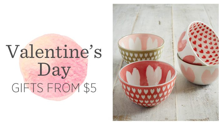 Valentine's Day Gifts From $5