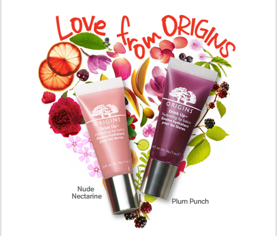 LOVE FROM ORIGINS Nude Nectarine Plum Punch