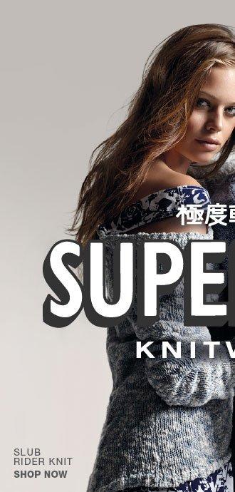 slub rider knit