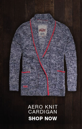 aero knit cardigan