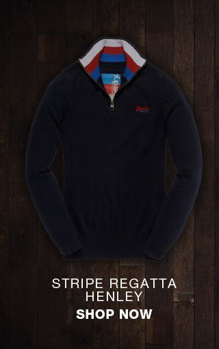 stripe regatta henley