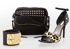 Downtown Chic: Leather, Studs & More