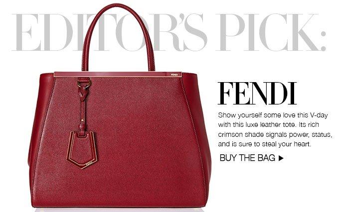 Shop Editor's Pick: Fendi Handbag.