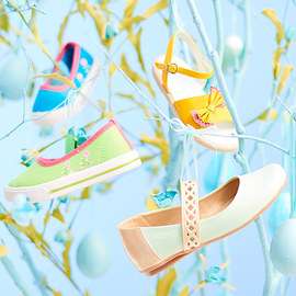 Easter Delight: Kids' Shoes