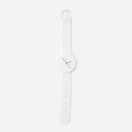 Watch Clock // White