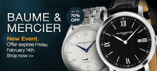 Baume & Mercier Watches Sale Link