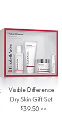 Visible Difference Dry Skin Gift Set $39.50.