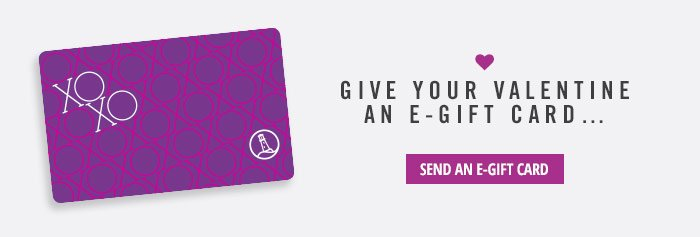 Give Your Valentine An E-Gift Card