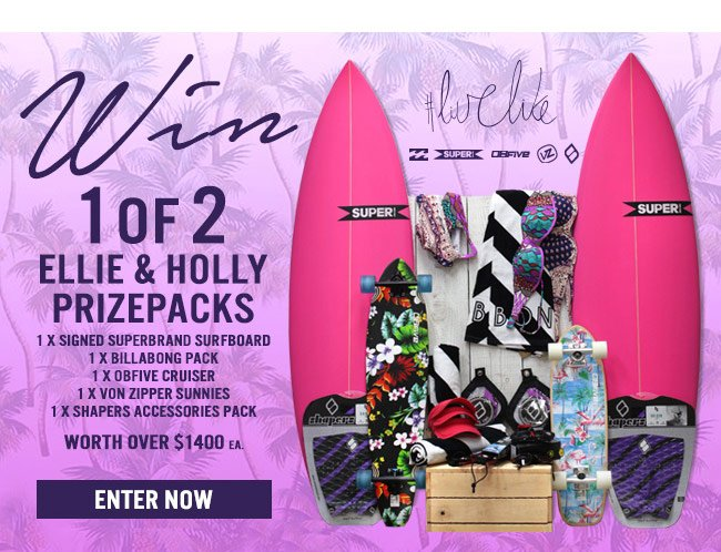 Win Ellie and Holly Prizepack