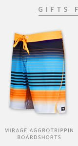 MIRAGE AGGROTRIPPIN BOARDSHORTS
