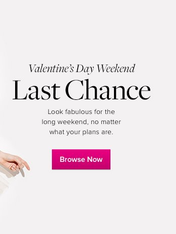 Last Chance - Browe for VDay Now