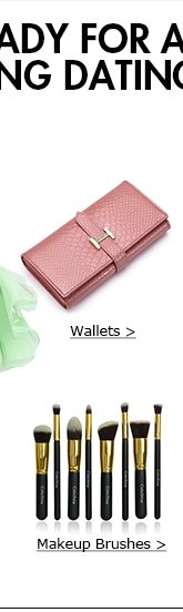Wallets and Makeup Brushes