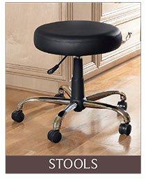 LivingXL® Adjustable Padded Stool
